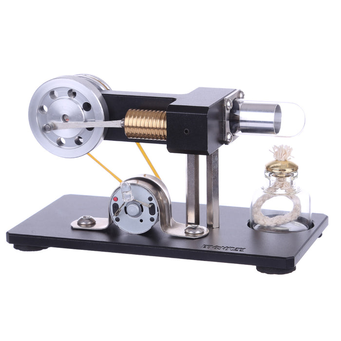 STEM Hot Air Stirling Engine Model Generator STEAM DIY Physics Science Experiment Kit - stirlingkit