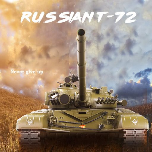 1:16 Russian T-72 Main Battle Tank 2.4Ghz Remote Control Military Tank - stirlingkit
