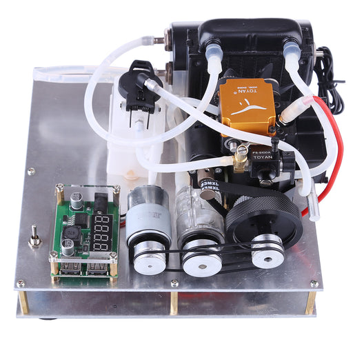 TOYAN General Methanol Gasoline Engine Model DIY Micro Water-cooled Generator Set - stirlingkit