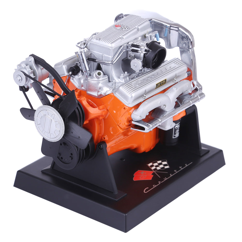1:16 Chevrolet Alloy Engine Model Corvette V8 Engine - stirlingkit