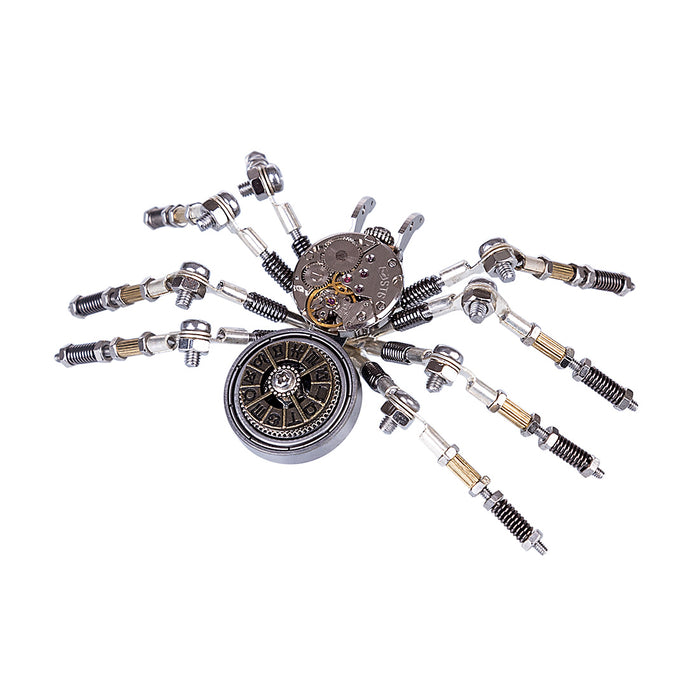 DIY Assembled Model Kit Metal Spider Model Ornaments Home Office Decor Art Creative Gift - stirlingkit