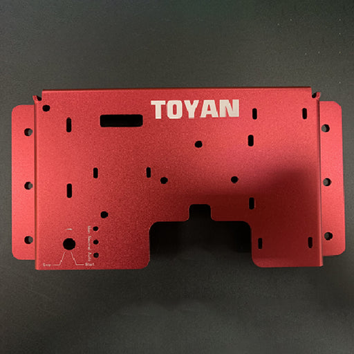Start Bracket Support for TOYAN FS-S100 Methanol Version - Rosy - stirlingkit