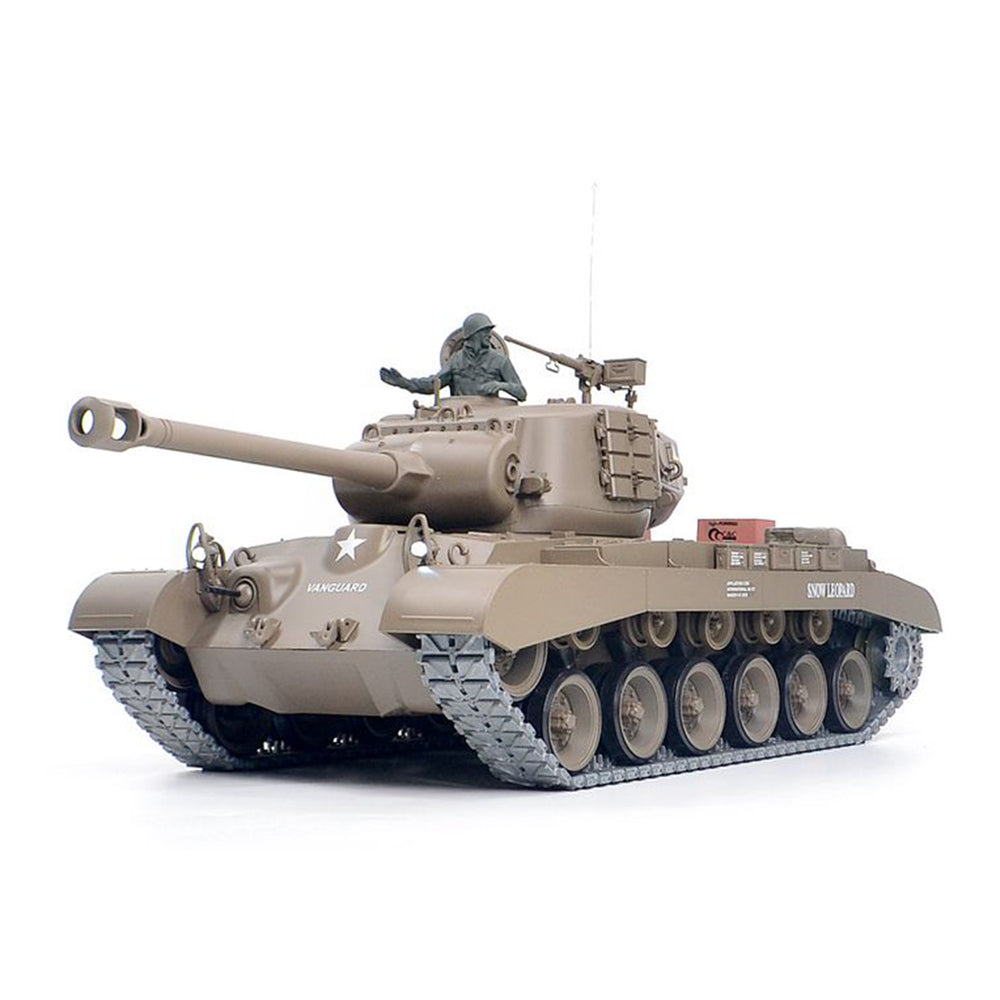 Upgrade 1/16 American Pershing M26 Heavy Tank 2.4G Remote Control Model Military Tank - stirlingkit