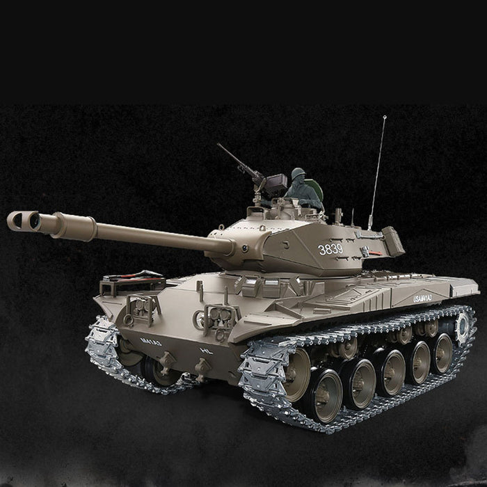 1/16 American Walker Bulldog A41A3 Remote Control Light Tank 2.4G Military Model - stirlingkit
