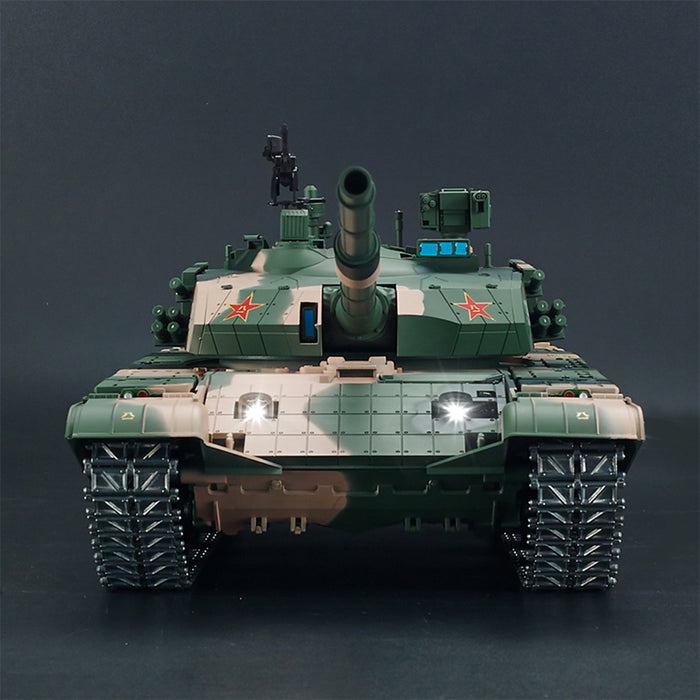 1:16 Chinese ZTZ 99A MBT Upgrade 2.4G Metal RC Military Tank with Sound Smoke Shooting Effect - stirlingkit