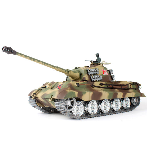 1/16 German Henschel Tiger King Battle Tank 2.4G 360° Rotation Military Tank - stirlingkit