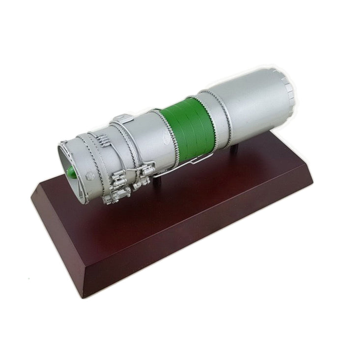 Simulative 1/50 WS-13 Military Turbofan Aeroengine Space Shuttle Engine Model - stirlingkit
