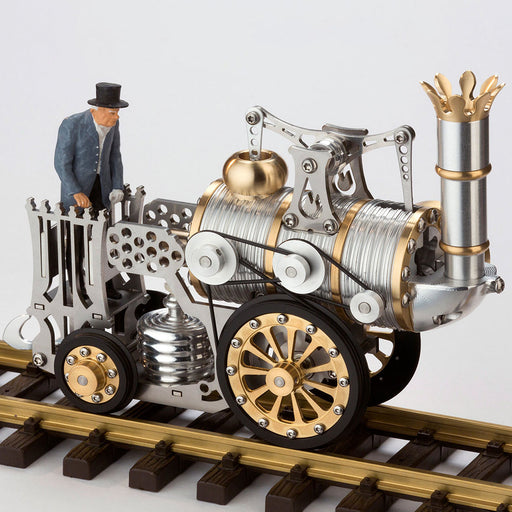 1 Set of Track for Retro Stirling Engine Rocket Locomotive Steam Train Model L1 - stirlingkit