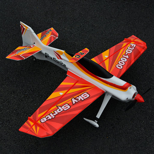 Sky Sprite 1000mm PNP Wingspan EPO RC Airplane 3D Stunt Beginner Trainer Plane Model - Stirlingkit