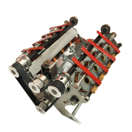24v V8 High-speed Generator Electromagnetic Engine Teaching Motor Model - stirlingkit