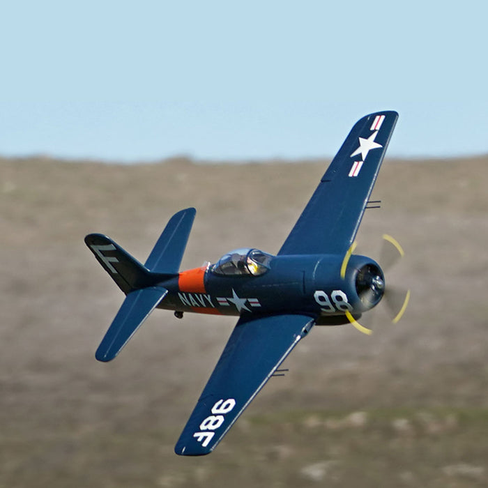 Arrows Hobby 1100mm F8F Bearcat RC Navy Airplane Model RTF - stirlingkit