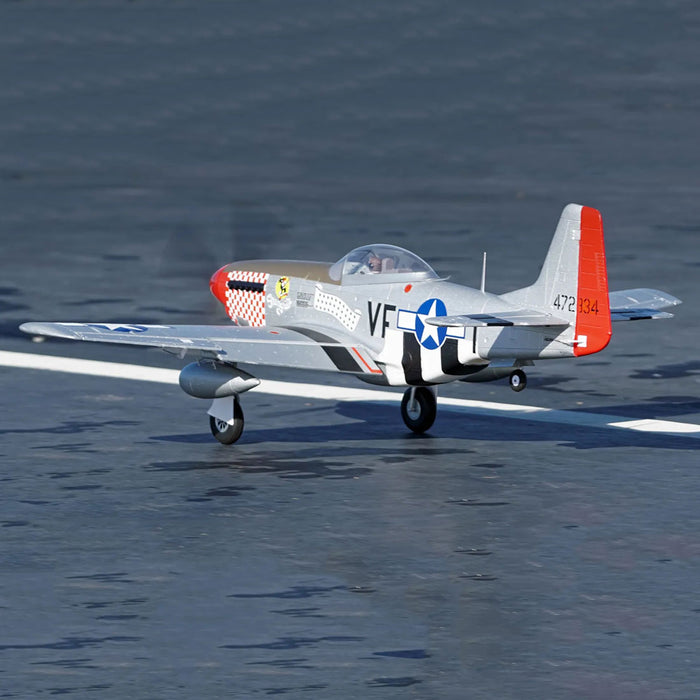 Arrows Hobby 1100mm P-51 Propeller Fighter RC Airplane Aircraft PNP Assembly