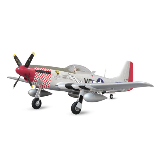 Arrows Hobby 1100mm P-51 Propeller Fighter RC Airplane Aircraft PNP Assembly - stirlingkit