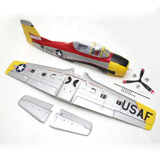 Arrows Hobby 1100mm T-28 Jrojan Fighter RC  Fixed-wing Aircraft PNP Assembly - stirlingkit