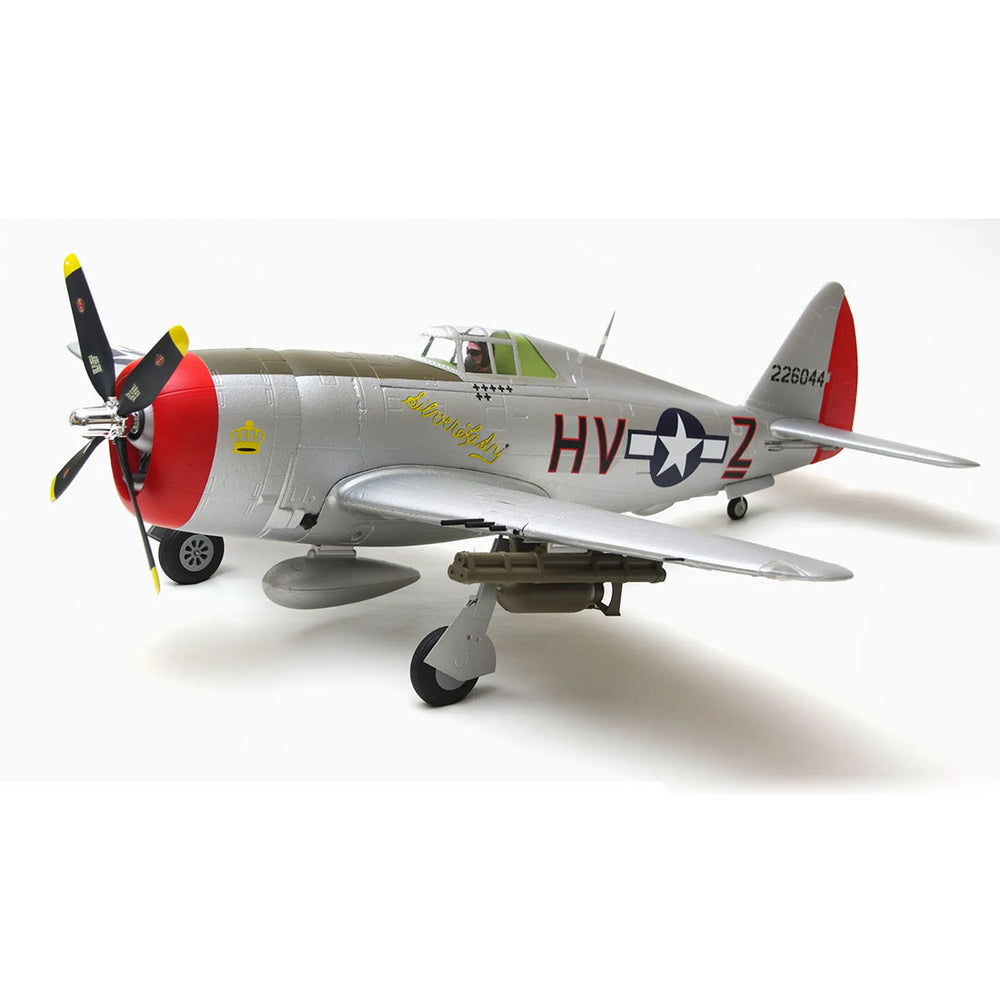 Arrows Hobby Assembly 980mm P-47 Attack Fighter RC Aircraft Model PNP - stirlingkit