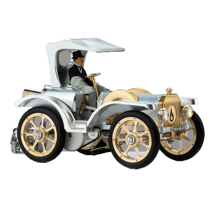 Assembly American Style Stirling Engine Powered Auto Vintage Classic Car Model