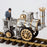 Assembly Rocket Locomotive Steam Train Retro Stirling Engine Model (No Track ) - stirlingkit