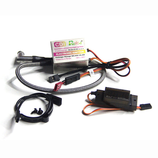 CDI + Hall Sensor + Tachometer Sets for TOYAN Gasoline Engine Model - stirlingkit