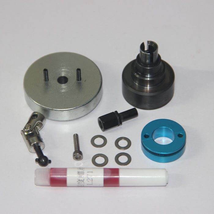 Clutch Assembly Set for TOYAN Single Cylinder 4-stroke Methanol Engine Model Ship - stirlingkit