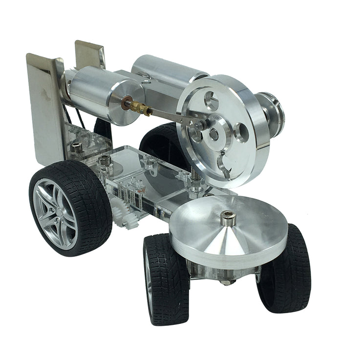 Custom Single Cylinder Stirling Engine Model Tractor Car Engine Physical Experiment Toy - stirlingkit