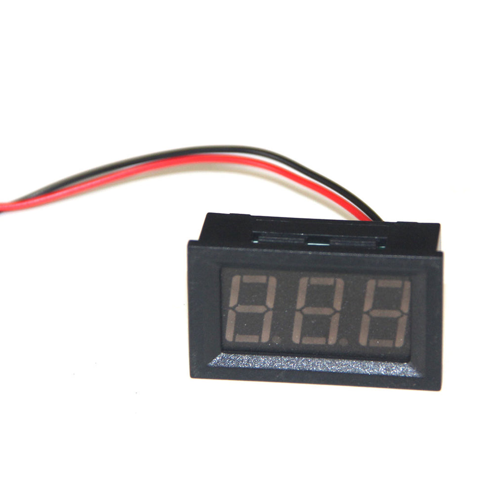 Digital Voltmeter Display  for 32cc Four-cylinder In-line Water-cooled Gasoline Engine - Stirlingkit