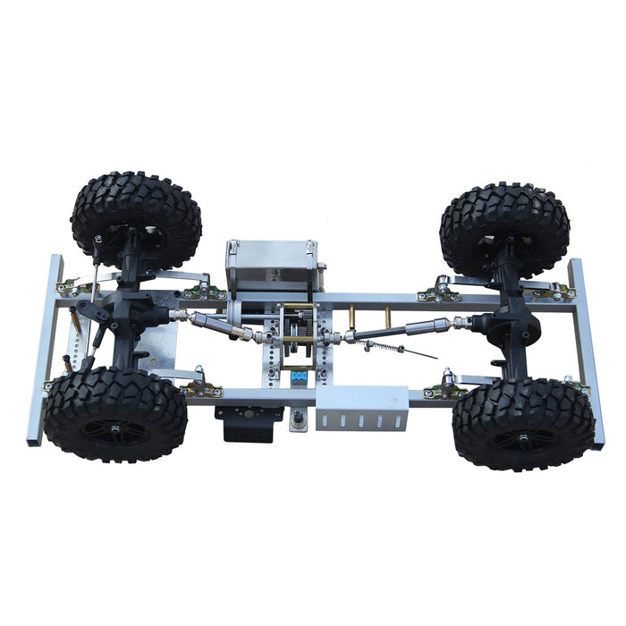 DIY 1/10 Gas Powered RC Car Frame for Toyan FS-L200 Engine (No power /electronic equiments) - stirlingkit
