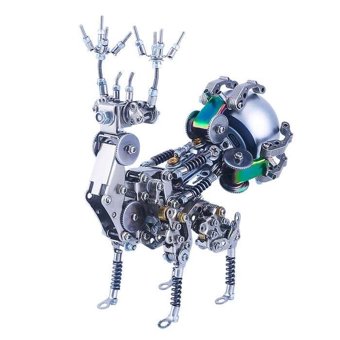 DIY Metal 3D Forest Deer With Speaker Assembly Model Kits - stirlingkit