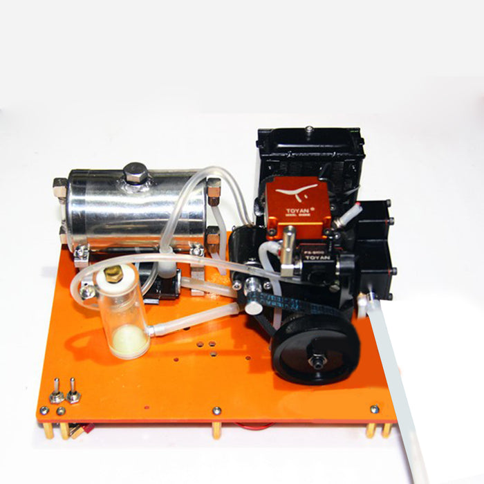 DIY Water Cooling Water Pump Tank Kit for Toyan Methanol Engine Model - stirlingkit