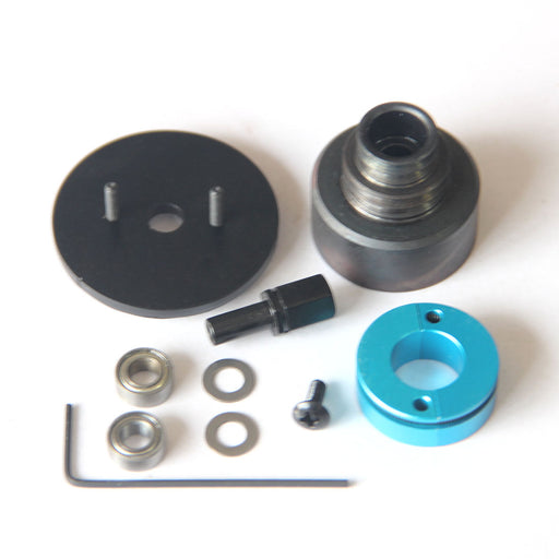 Double V Slot Belt Pulley Clutch Modified Kit for Toyan FS-L200 Engine Model - stirlingkit