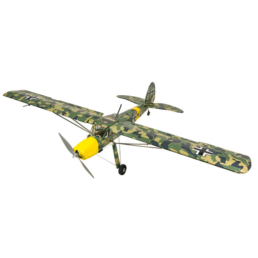 DW HOBBY Fi156 1/9 1600mm Wingspan Camouflage Remote Control ARF Airplane Balsa Wood Airplane