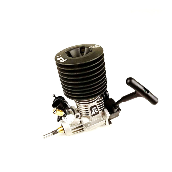Force FC .21  3.46cc Engine Pull Starter Engine for 1/8 Methanol Fuel RC Car - stirlingkit