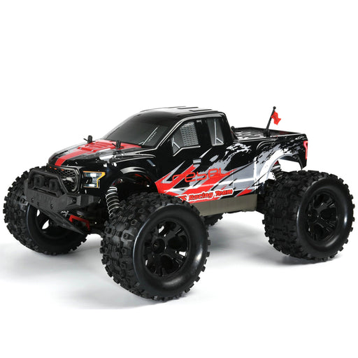 FS Racing 1/10 Bigfoot Car 4WD High Speed Brushless Remote Control Car with Body ESC Motor 2.4G - stirlingkit