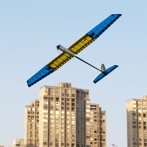 GT1500V3 1500mm Wingspan Composite Electric Aircraft RC Airplane Glider Model PNP /KIT Blue
