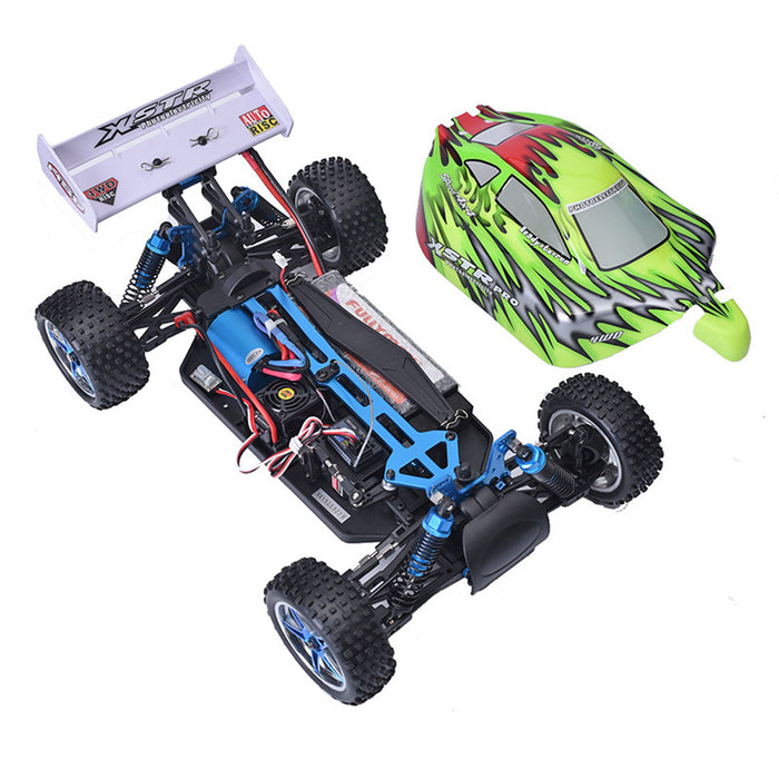 HSP 94107PRO 1/10 4WD 2.4G Electric Brushless RC Car High Speed Off Road Buggy (RTR) - stirlingkit