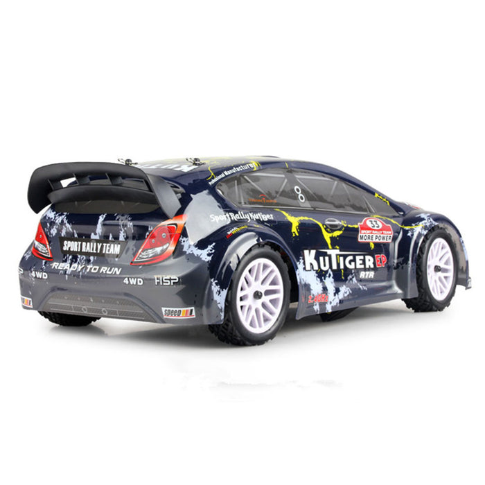 HSP 94118 1/10 4WD 2.4G Wireless Electric Brushed High Speed Rally Racing RC Car - RTR - stirlingkit