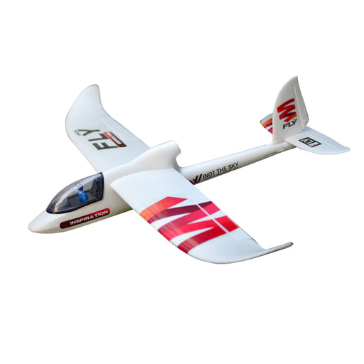 INSPIRATION FLY 1.5M Surfer 1480mm Wingspan EPO Foam RC Airplane Glider Model PNP - Red