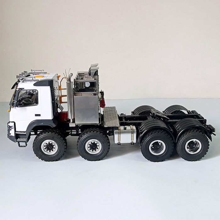 JDMODEL JDM-136 1/14 8x8 Electric RC Construction Off-road Crawler Vehicle Heavy Trailer Truck  Model - stirlingkit