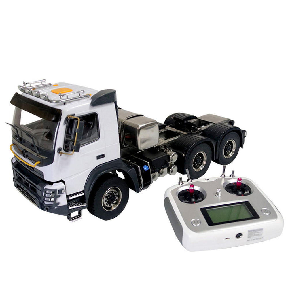 JDMODEL JDM-141 1/14 6x6 Electric FMX Crawler Vehicle Heavy Trailer RC Off-road Truck Construction Model - stirlingkit