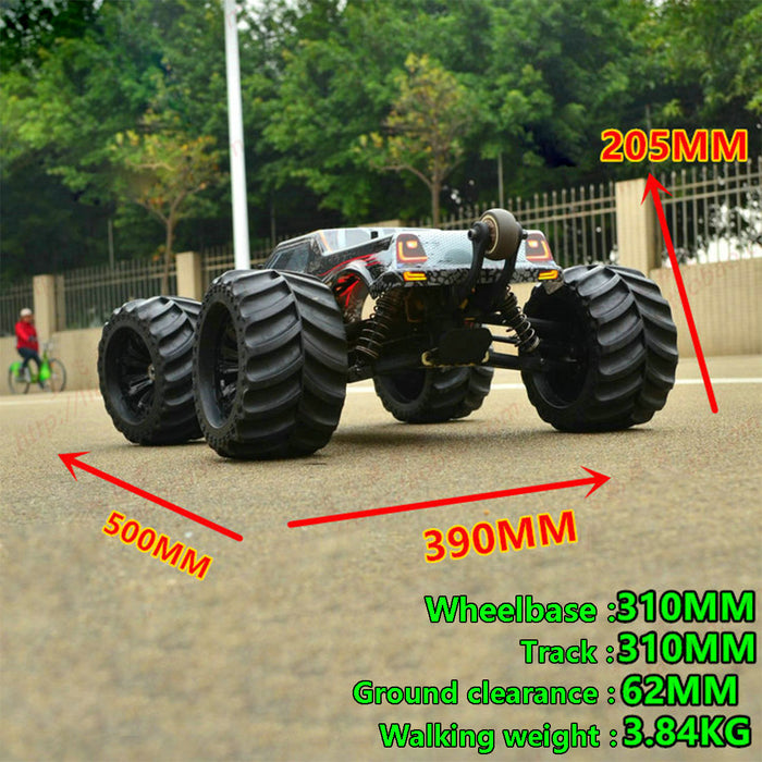JLB Racing Cheetah 1/10 4WD RC Brushless Monster Truck Off-road Vehicle Waterproof RC Car - stirlingkit
