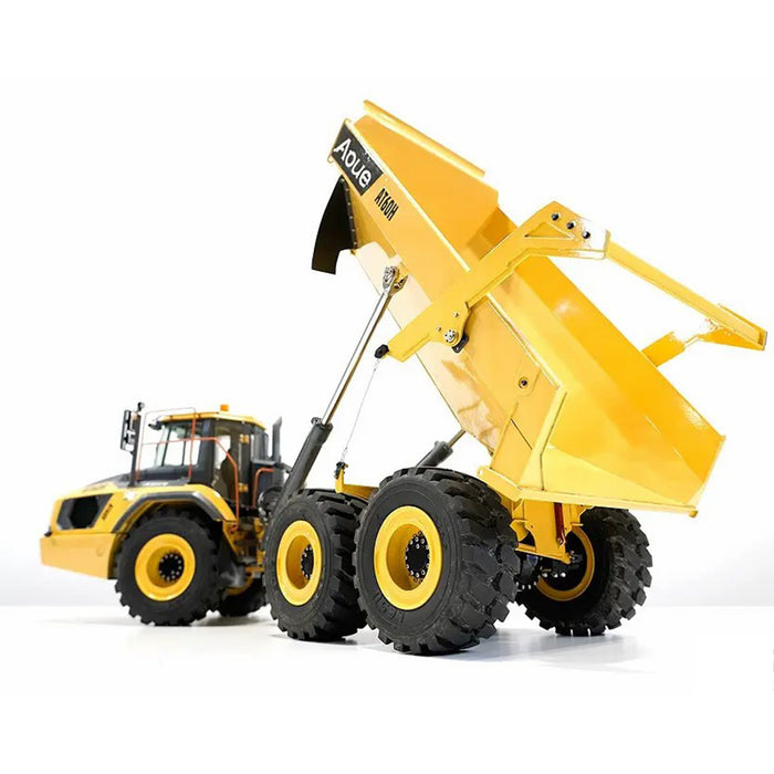 LESU AT60H 1/16 6WD Full Metal Hydraulic Articulated RC  Brushless Truck Model with light - KIT Version - Stirlingkit