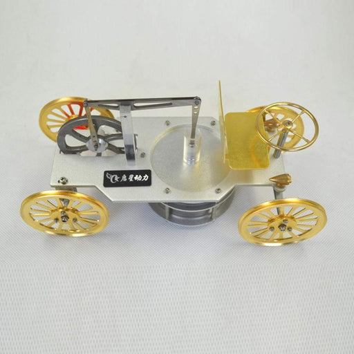 Low Temperature Difference Stirling Engine Car Model Gift Collection Science STEM Toy - stirlingkit