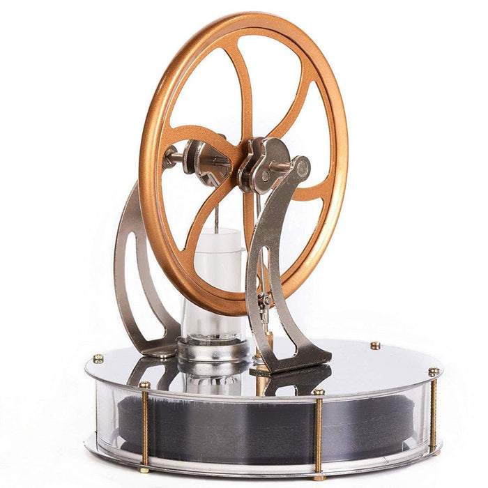 Low Temperature Stirling Engine Motor Steam Heat Education Model Toy - stirlingkit