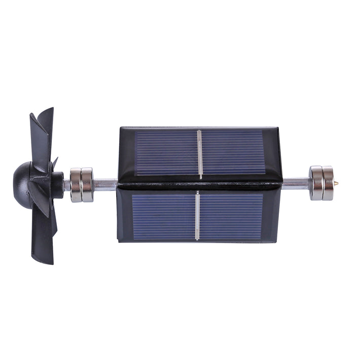 Magnetic Levitating Solar Motor With Fan Blade Model Free Energy Science Educational Toys - Stirlingkit