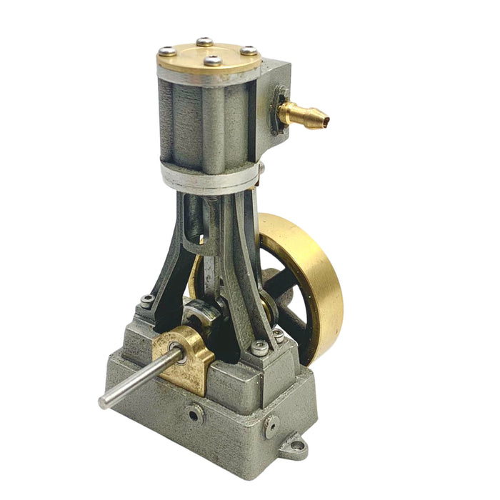 Mini Single-cylinder Stirling Steam Engine with Boiler for 50-100cm Ship - stirlingkit