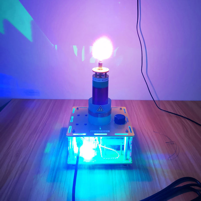 Upgrade PLL SSTC Music Tesla Coil Quartz Glass Plasma Speakers Bluetooth Science Technology Toy - Stirlingkit