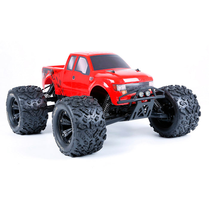 ROFUN TORLAND EV4 1/8 Electric 2.4G 4WD Brushless RC Pickup Truck with Battery & Charger - stirlingkit