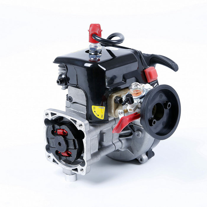 Rovan 32cc Single-cylinder Two-stroke 3.24 Hp 4 Bolt RC Engine for 1/5 LT LOSI RC Car - stirlingkit