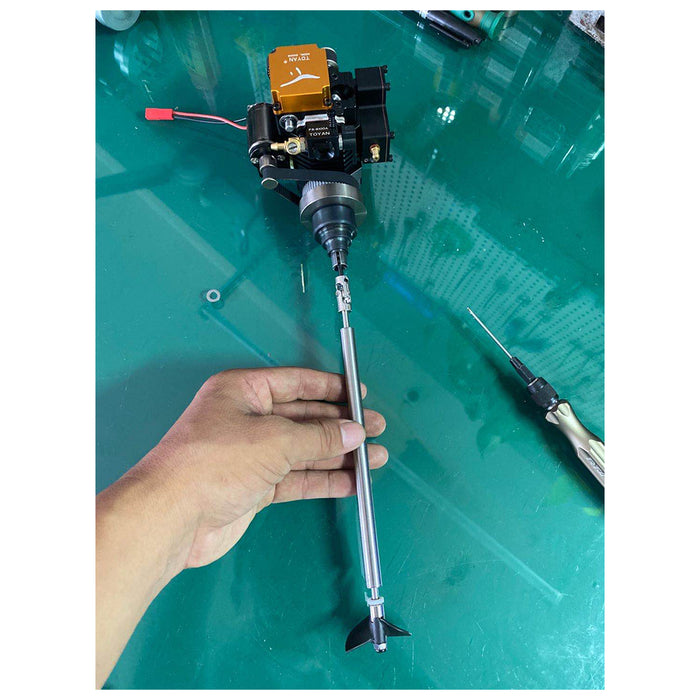 Ship Shaft Propeller for TOYAN RC Engine and Clutch Assembly - stirlingkit