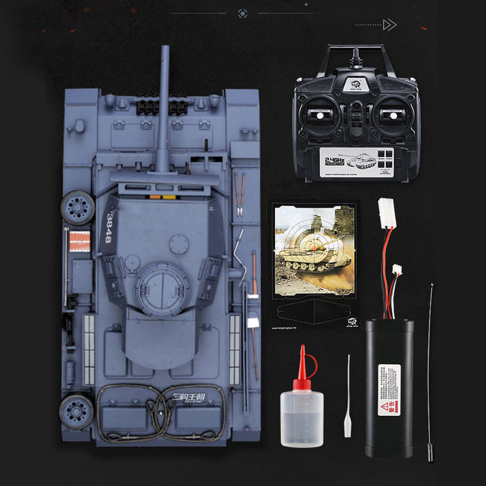 Simulated 1:16 German III L Tank 2.4G Remote Control Model Military Tank - stirlingkit