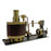 Single-cylinder Mini Steam Stirling Engine Kit with Gearbox Boiler for 50-100cm Ship - stirlingkit